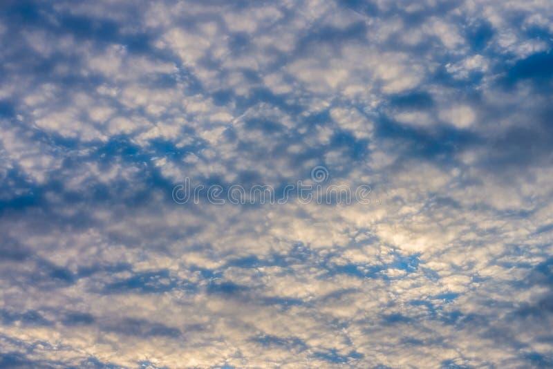 Ansicht des drastischen bewölkten Himmels vom Boden stockfotografie