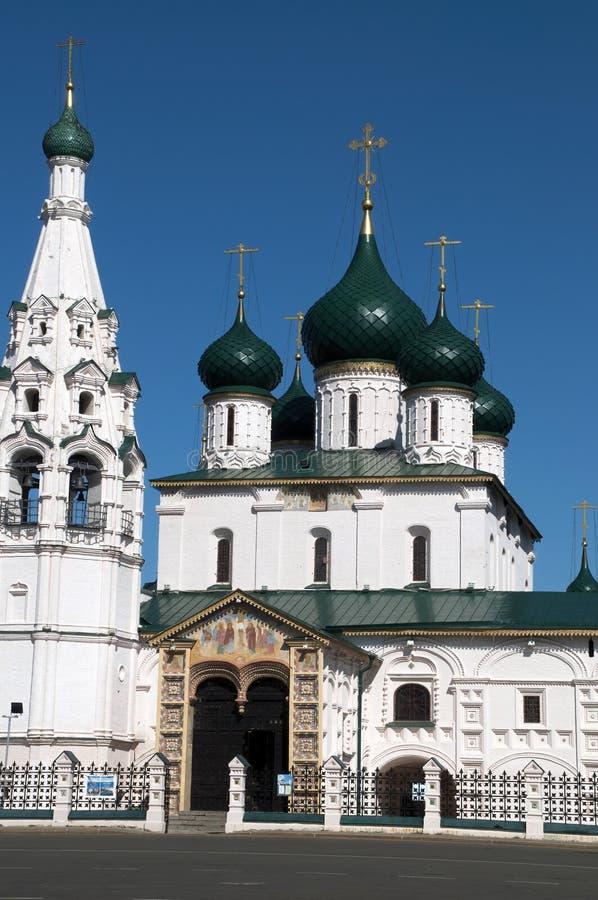 Ansicht des Eingangs zur Kirche von Elija der Prophet lizenzfreies stockfoto