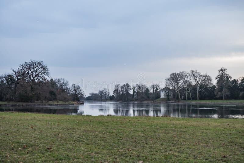 Ansicht des Garten-Königreiches lizenzfreie stockfotografie