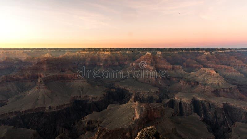 Ansicht des Grand- CanyonNationalparks stockfotos