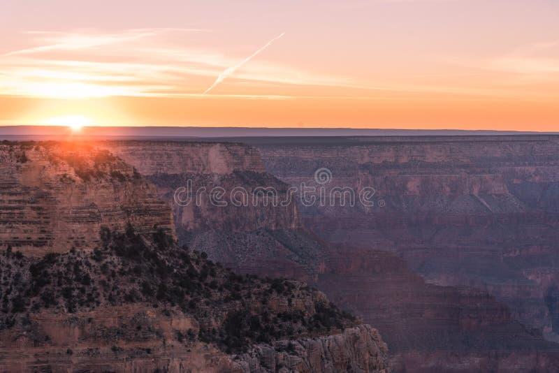 Ansicht des Grand- CanyonNationalparks lizenzfreie stockbilder