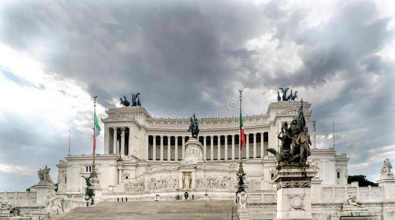 Ansicht des Haupt-façade des Monuments genannt stockfoto