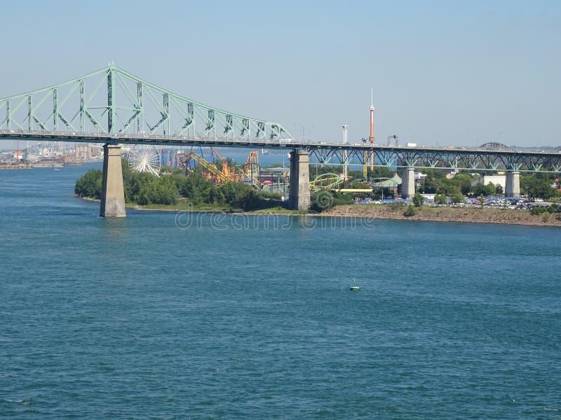 Ansicht des Heiligen Lawrence River lizenzfreie stockfotografie