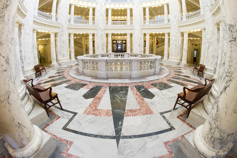 Ansicht des Inneres des Boise-Kapitals lizenzfreie stockfotos