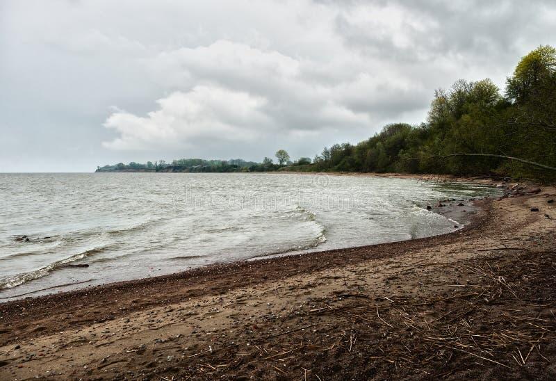 Ansicht des Kaps auf dem Golfufer lizenzfreie stockfotos