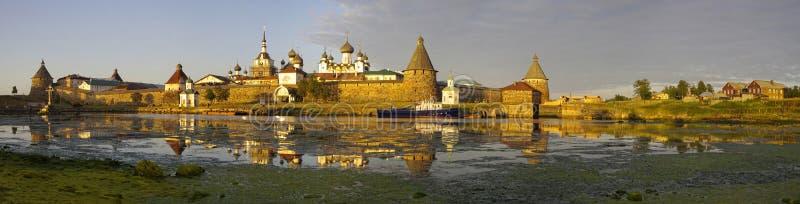 Ansicht des Klosters. Russland. stockfotografie