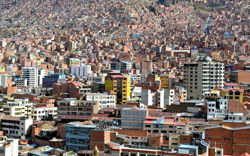 Ansicht des konkreten Dschungels La Paz, Bolivien lizenzfreies stockfoto