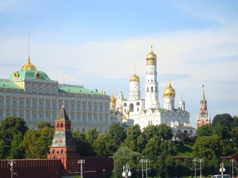 Ansicht des Moskaus Kremlin stockfoto