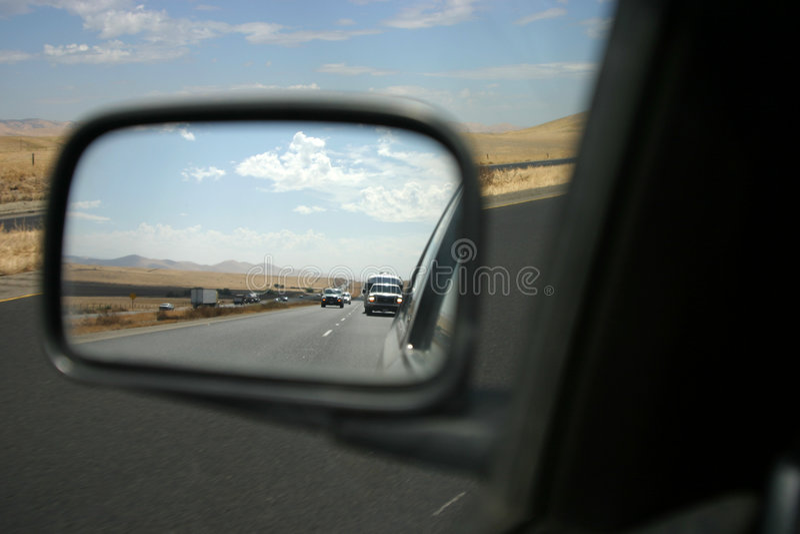 Ansicht des Rearview 2 lizenzfreies stockfoto