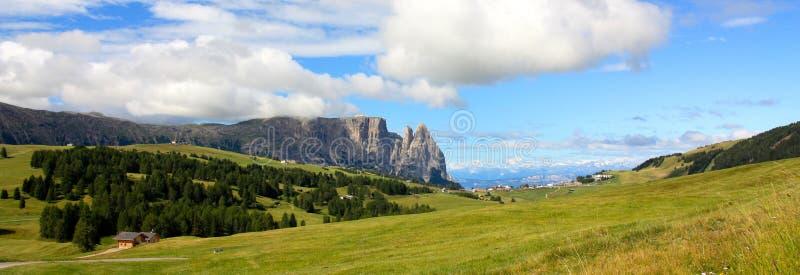 Ansicht des Sciliar, Dolomit, Italien stockfoto