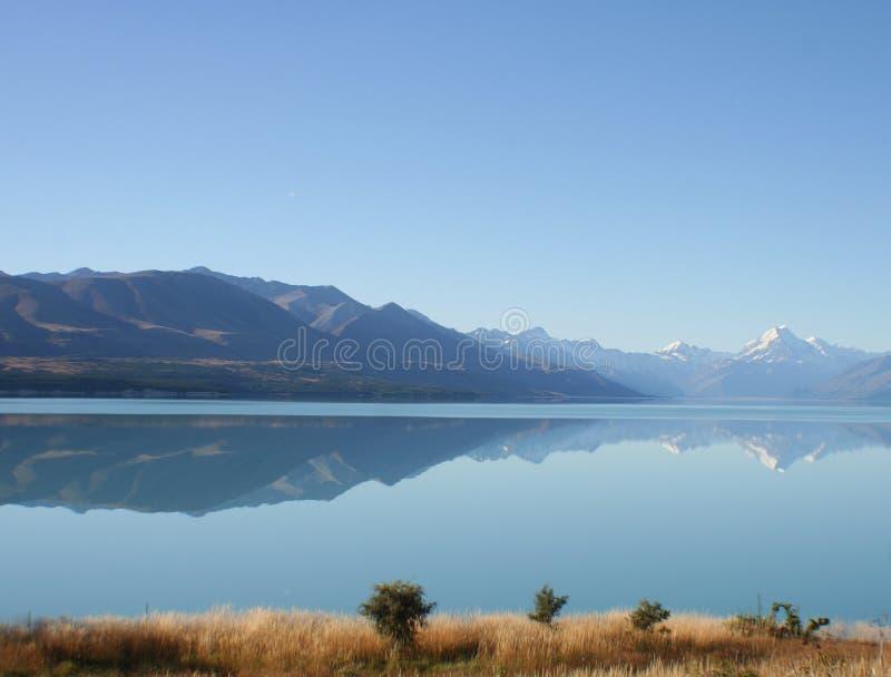 Ansicht des Sees, Neuseeland stockfotografie
