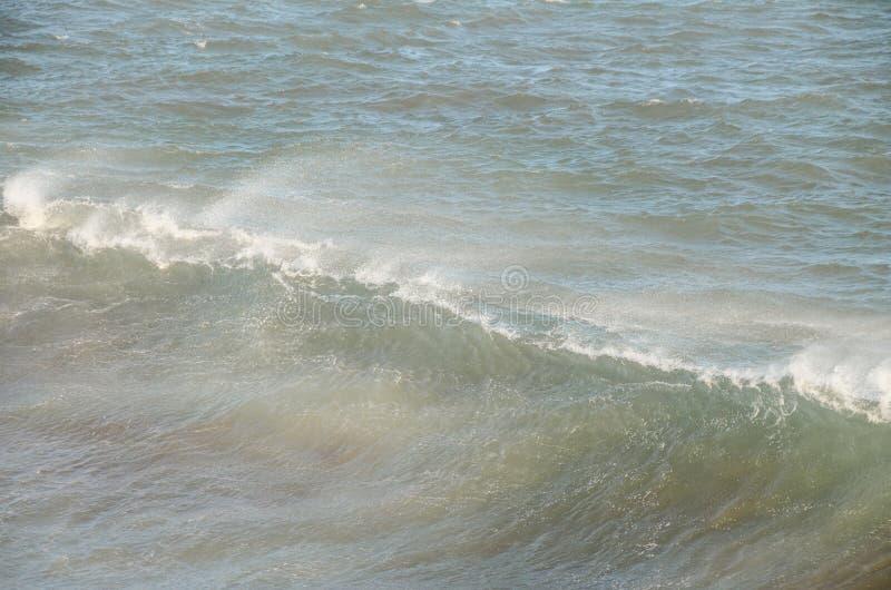 Ansicht des Sturm-Meerblicks lizenzfreies stockbild