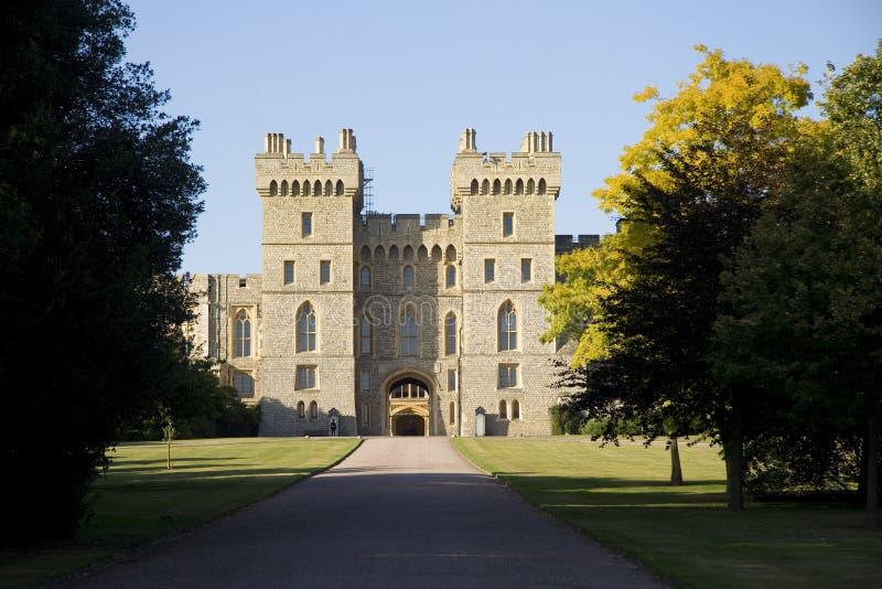 Ansicht des Windsor Schlosses stockbild