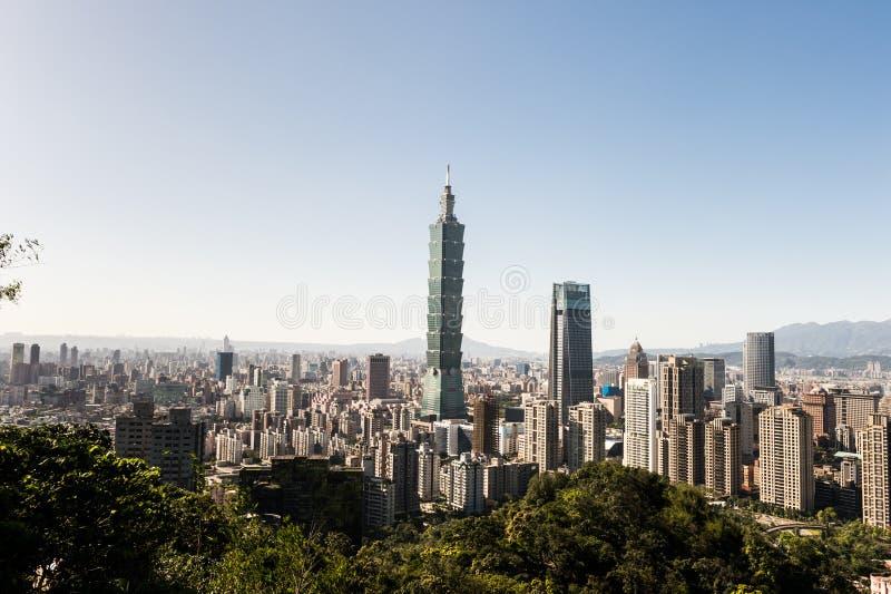 Ansicht des World Trade Center-Gebäudes Taipehs 101 lizenzfreie stockfotografie