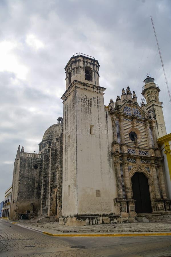 Ansicht ehemaligen Sans Jose Cathedral Es war der Haupttempel O lizenzfreie stockfotos