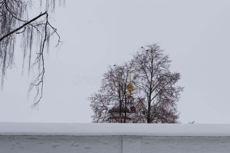 Ansicht einer Glockenturmspitze stockbild