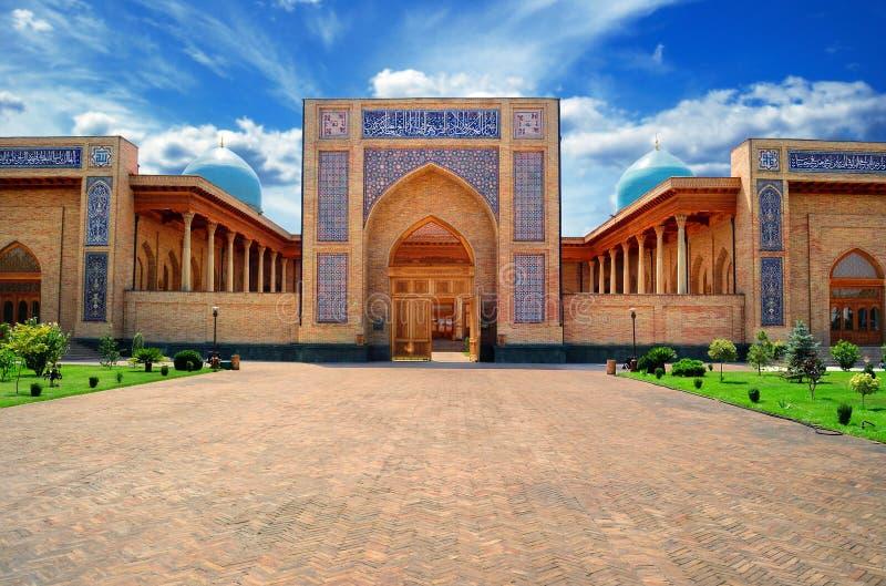 Ansicht einer Moschee lizenzfreie stockfotos