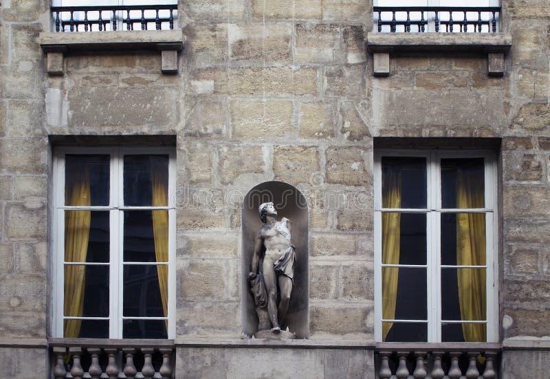 Ansicht einer Statue/der Skulptur lizenzfreie stockfotos