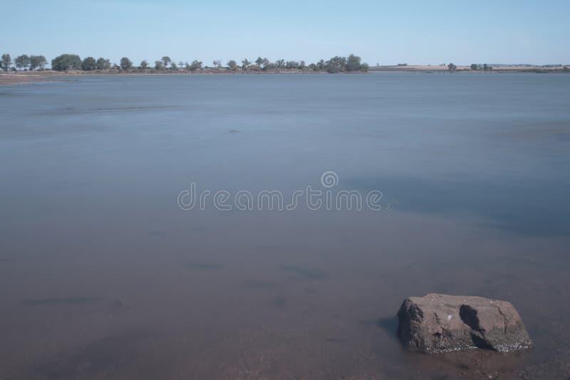 Ansicht eines Sumpfs lizenzfreie stockbilder