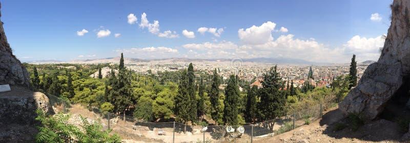 Ansicht in Griechenland lizenzfreie stockfotografie