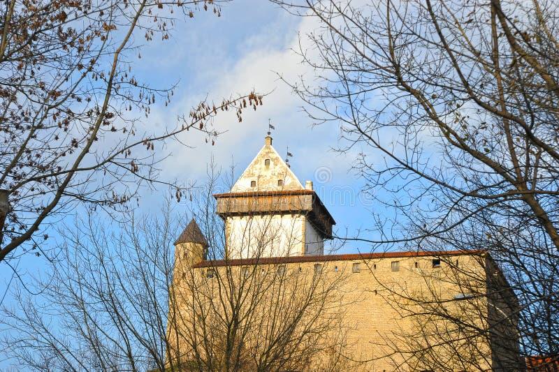 Ansicht langen Herman-Turms stockbild