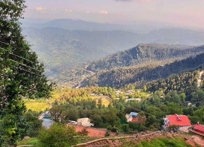 Ansicht in Murree Pakistan lizenzfreie stockfotos