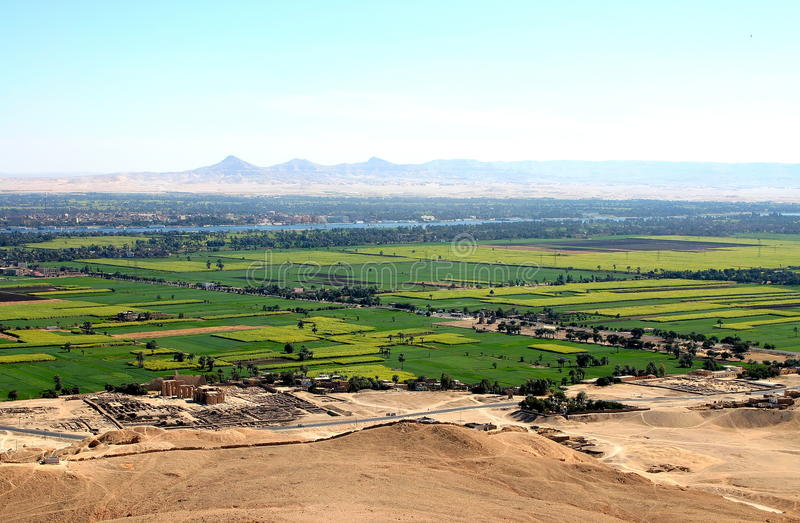 Ansicht Nil-Valey stockfotografie