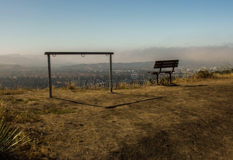 Ansicht in O 'Neill Regional Park stockfotos