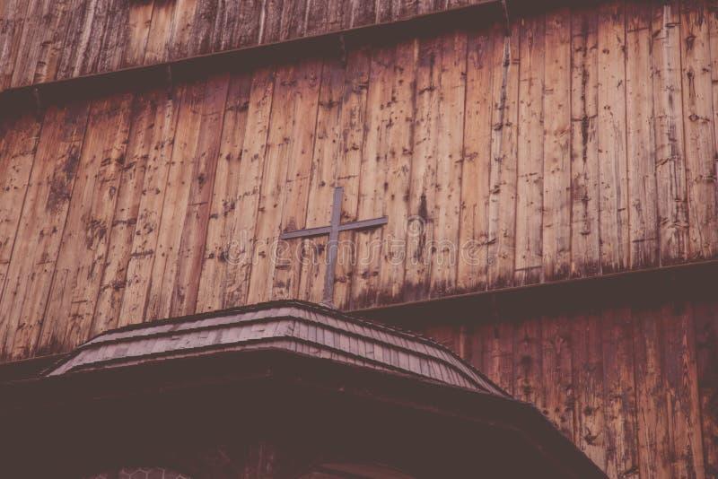 Ansicht am Protestantkreuz lizenzfreie stockfotos