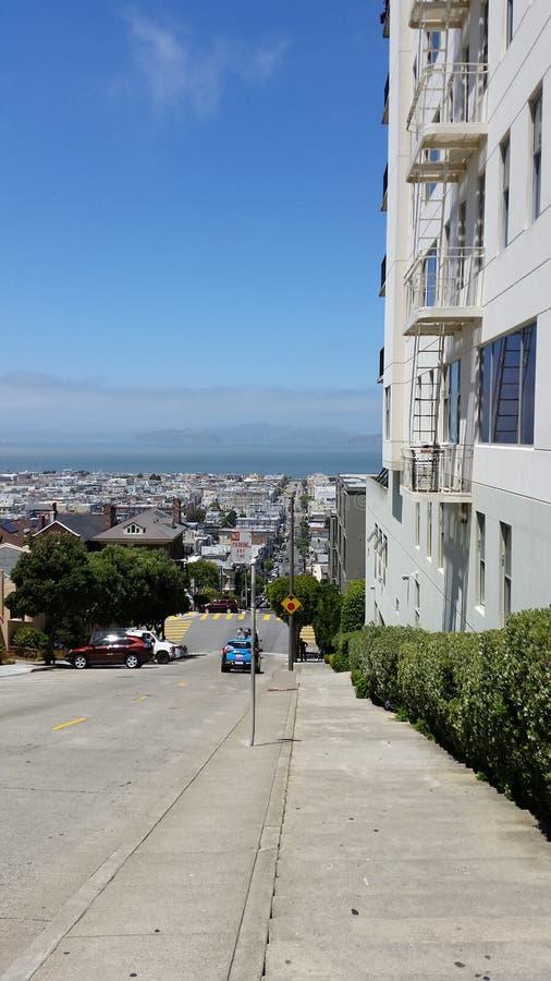 Ansicht in San Francisco stockbilder