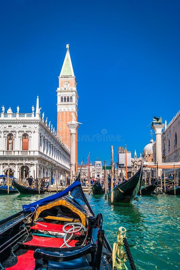 Ansicht an St Mark Quadrat, Venedig stockfotografie