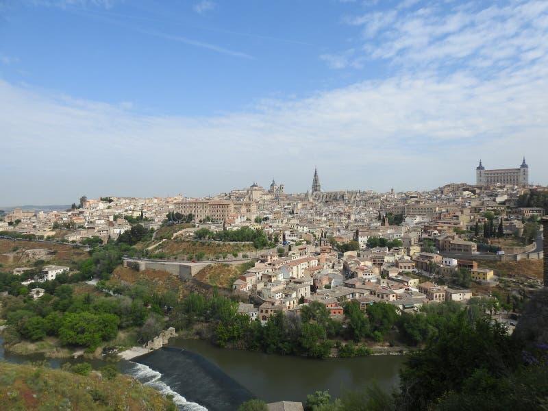 Ansicht Toledos, Spanien lizenzfreies stockfoto