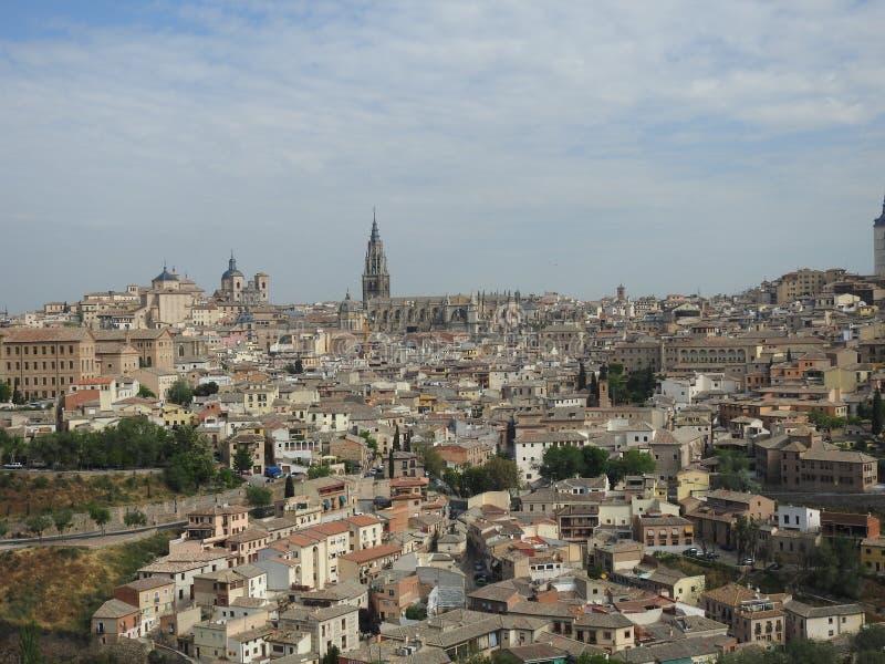 Ansicht Toledos, Spanien lizenzfreies stockbild