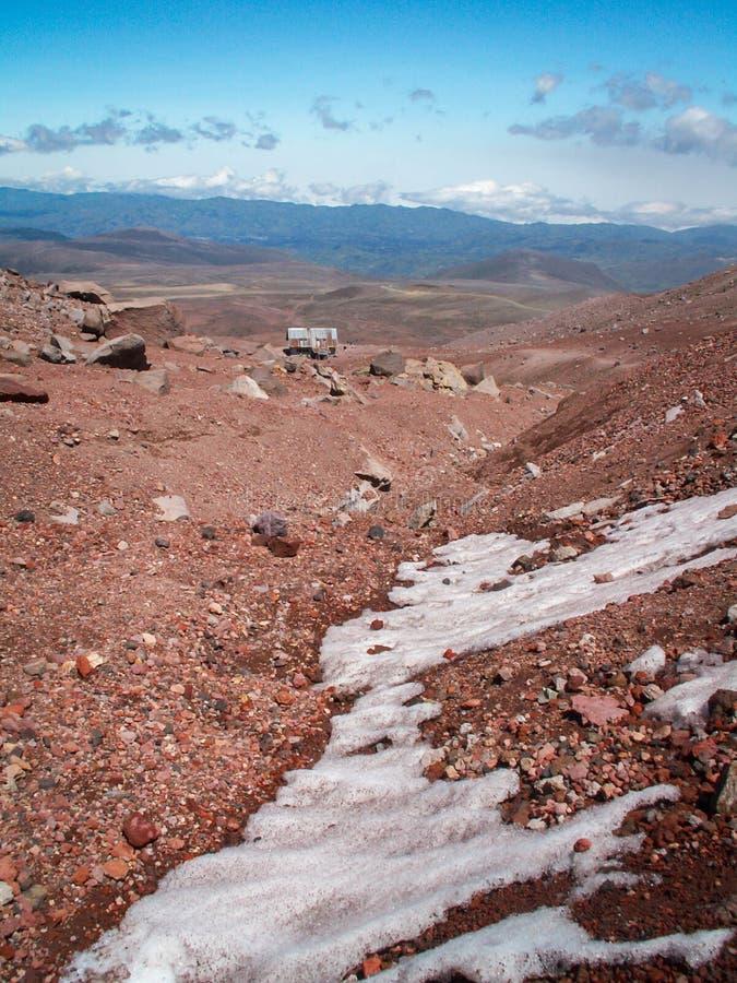 Ansicht unten Chimborazo lizenzfreie stockbilder