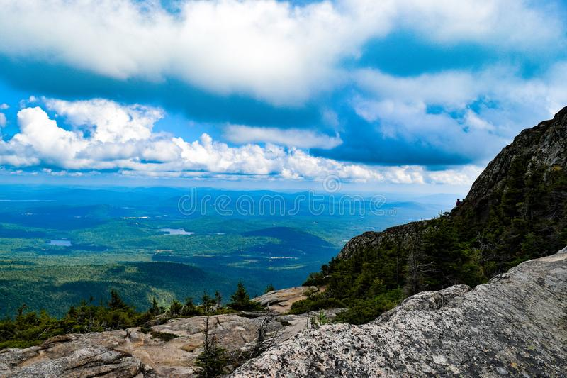 Ansicht vom Berg Chocorua New Hampshire stockfotografie