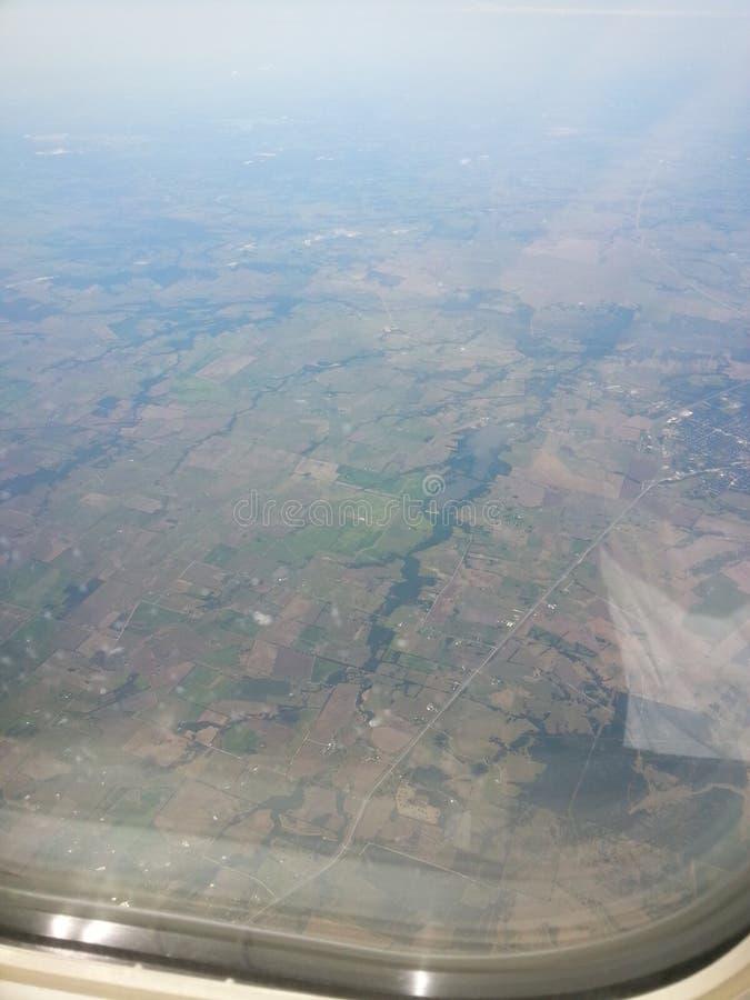 Ansicht vom Himmel lizenzfreie stockfotos