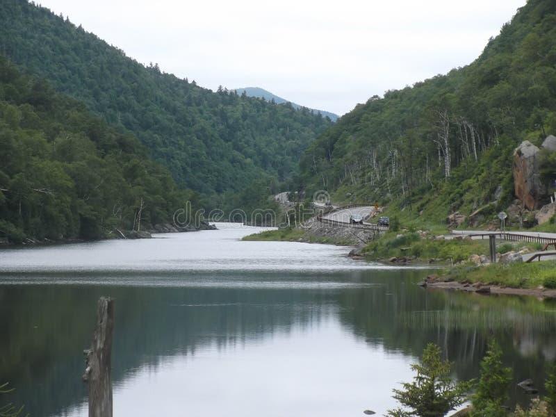 Ansicht vom See lizenzfreies stockfoto