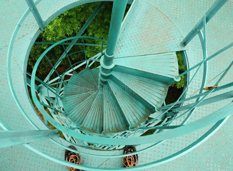 Ansicht vom Turm lizenzfreie stockfotografie