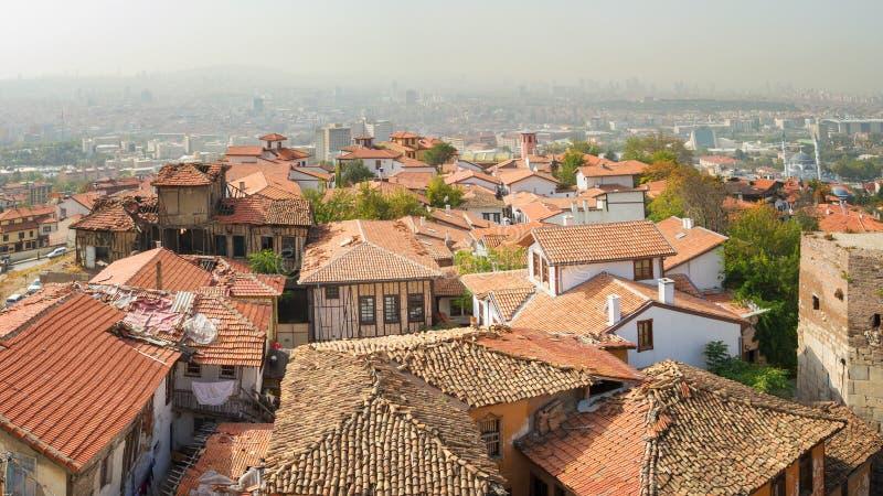 Ansicht von Ankara - Türkei lizenzfreies stockbild