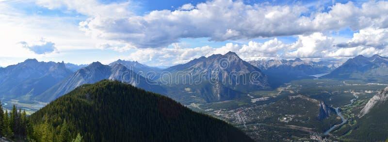 Ansicht von Banff, Alberta, Kanada stockfoto