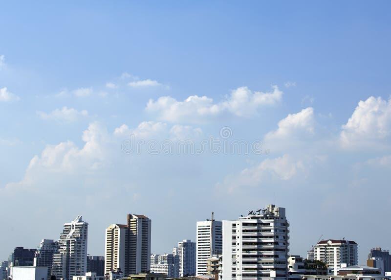 Download Ansicht Von Bangkok-Skylinen Stockbild - Bild von bangkok, stadt: 90225437
