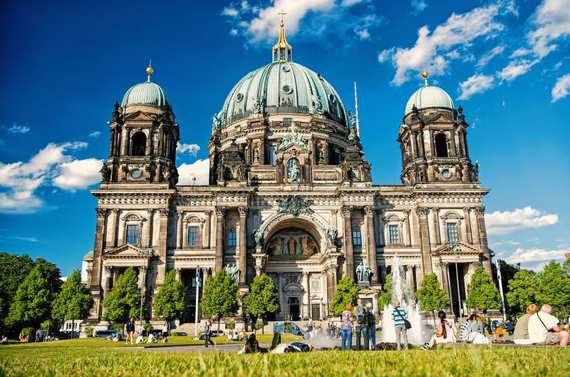 Ansicht von Berlin Cathedral in Berlin stockbilder