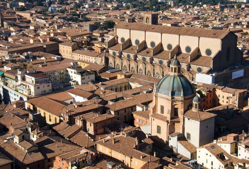 Ansicht von Bologna lizenzfreies stockfoto