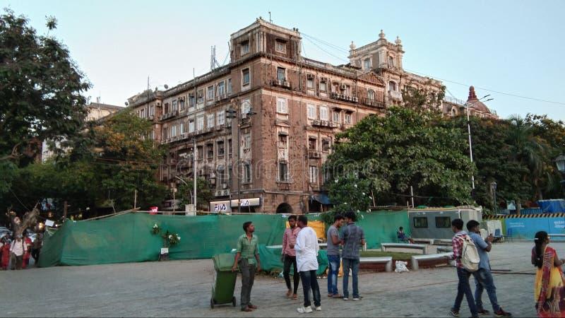 Ansicht von Brunnenkreis Fort Mumbai stockfoto