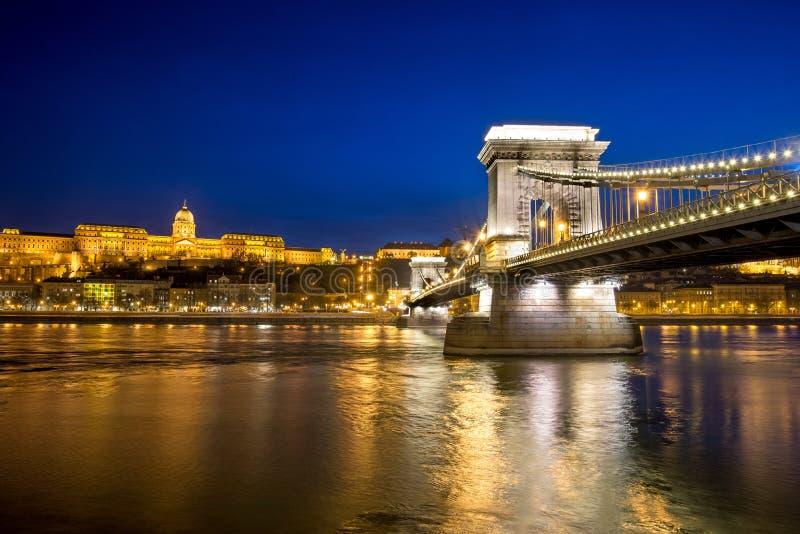 Ansicht von Budapest, Ungarn stockbild