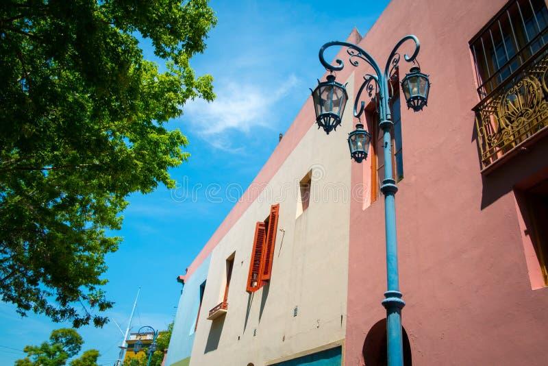 Caminito Straße in Buenos Aires lizenzfreies stockbild