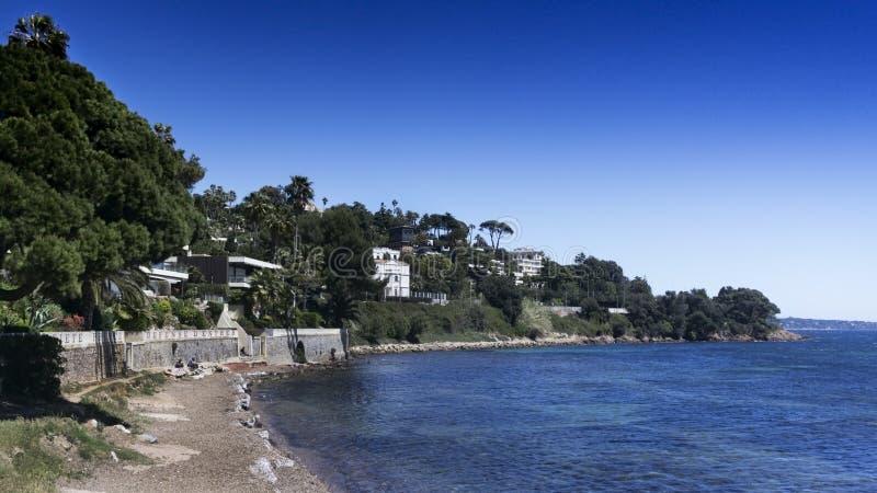 Ansicht von Cannes, Frankreich lizenzfreies stockfoto