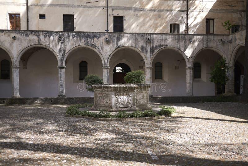 Ansicht von Chiostro San Domenico stockfoto
