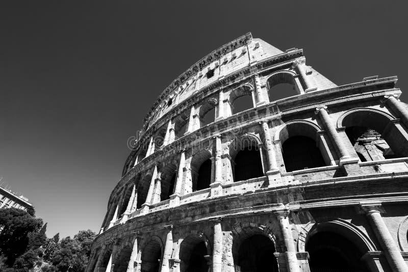 Ansicht von Colosseum in Rom tagsüber stockfoto