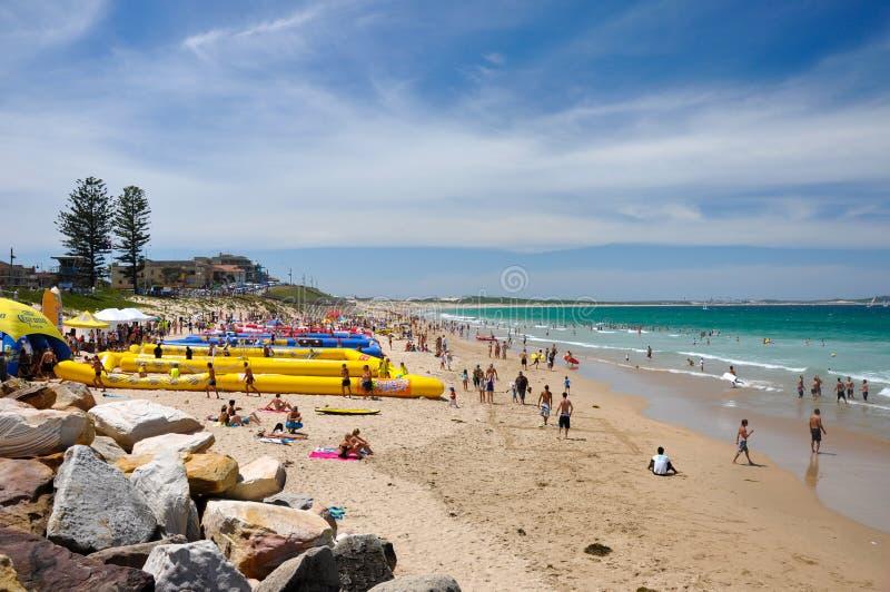 Ansicht von Cronulla-Strand stockfoto